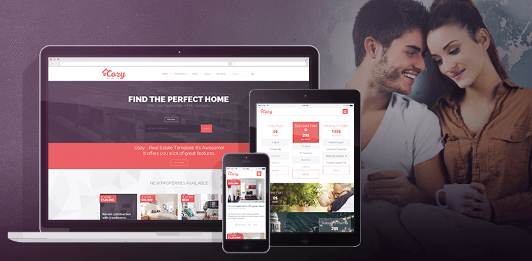 Cozy html it's our best seller template
