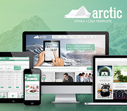 Arctic Responsive HTML5 Template