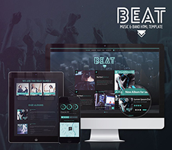 Beat Onepage HTML5 Music and Band Template