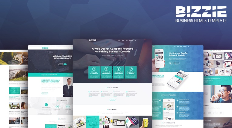 Bizzie - Responsive Business HTML5 Template