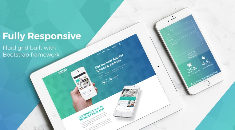 Bizzie - Fully Responsive and Retina Ready