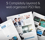 5 completely layered and well organized PSD files Thumbnail