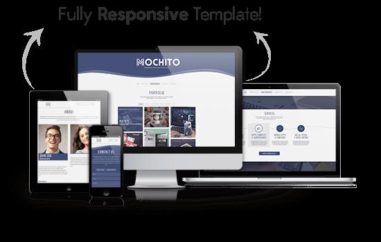 Mochito - One Page Portfolio Joomla template - 1